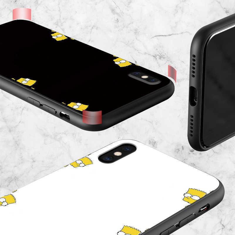 Bart Simpsons untuk HUAWEI Mate 10 Lite Menutupi Silicon Lembut TPU Fundas untuk Huawei Mate10 Pro 10 Lite tritone 10pro Etui