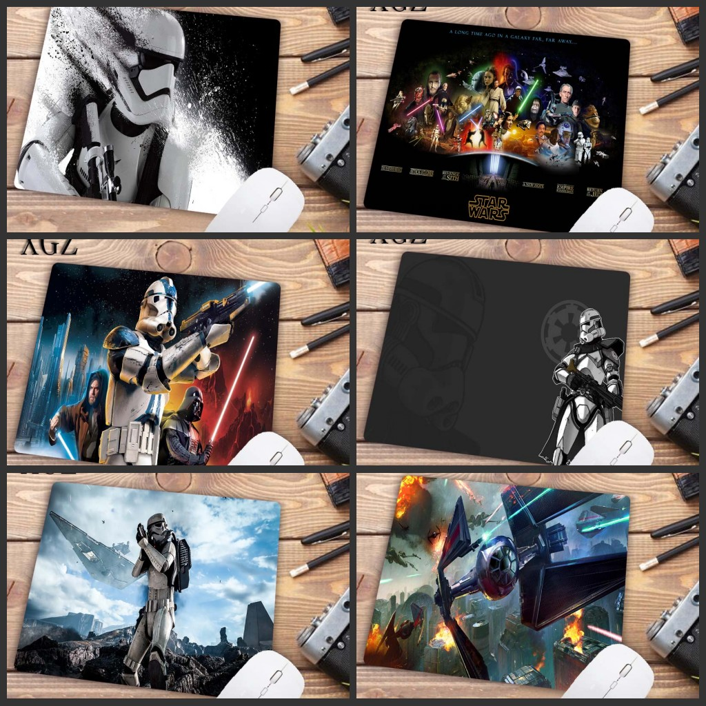 XGZ  Star Wars Mouse Pad 22X18CM Pad Mouse Notbook Computer Padmouse Popular Gaming Mousepad Gamer To Keyboard Mouse Mats