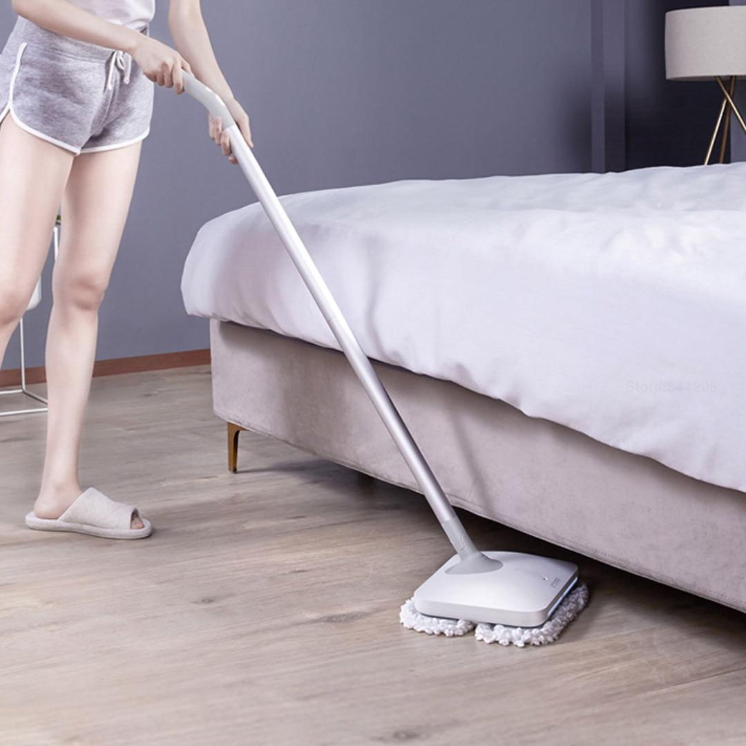 Image 5 - New XIAOMI MIJIA WXCDJ01SWDK Electric Mopping Handheld Wireless Wiper Floor Window Washers Wet Mop broom Vacuum Cleaner MachineVacuum Cleaners   -