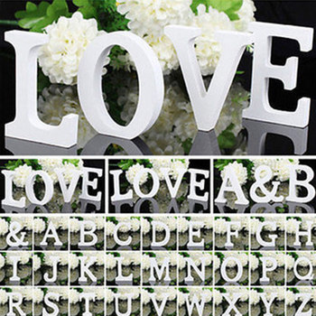 Letras pequeñas de madera con letras del alfabeto, letras de madera para niños, niños, niñas, Baby Shower, materiales de decoración para boda 1 unidad