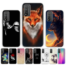 Soft TPU Case For Huawei Honor 10X Lite Cases Silicon Painted Phone Fundas Huawei Mate 40 Pro Plus P Smart 2021 Y7A Y9A E Covers