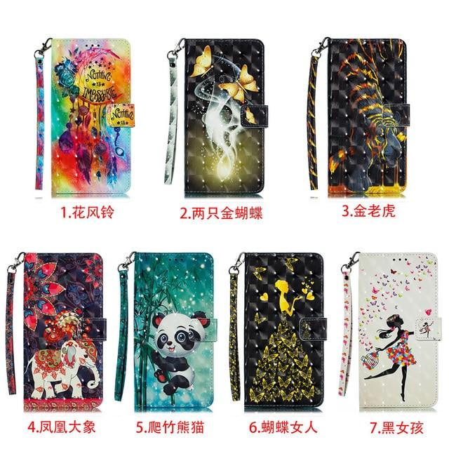 3D Cover A6 Plus Case A7 2018 Mobile Wallet Case For Samsung A70 A50 A40 A50S Case A30 A20E A10 A30S A20S A10S Flip Leather Bag