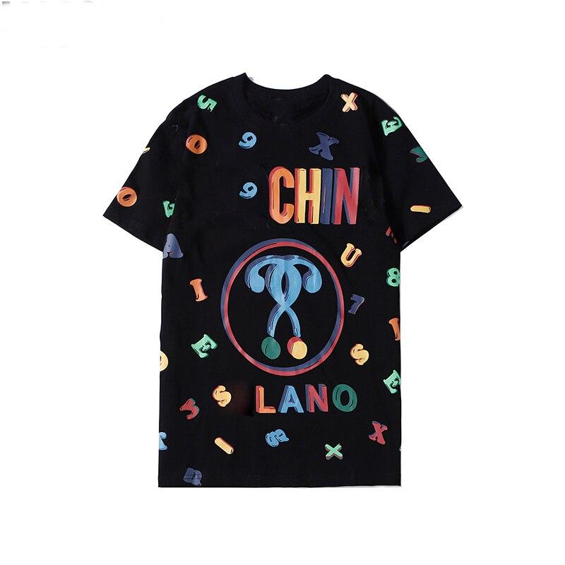 Luxury 2020 Summer Women Clothing Short Sleeve Little Bear Letter Print 100% Cotton Femmes Tees Casual Girl Tops Female T shirt|T-Shirts| - AliExpress