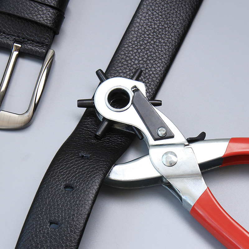 Leather Belt Hole Punch Plier Eyelet Puncher Leathercraft 2mm-4.5mm