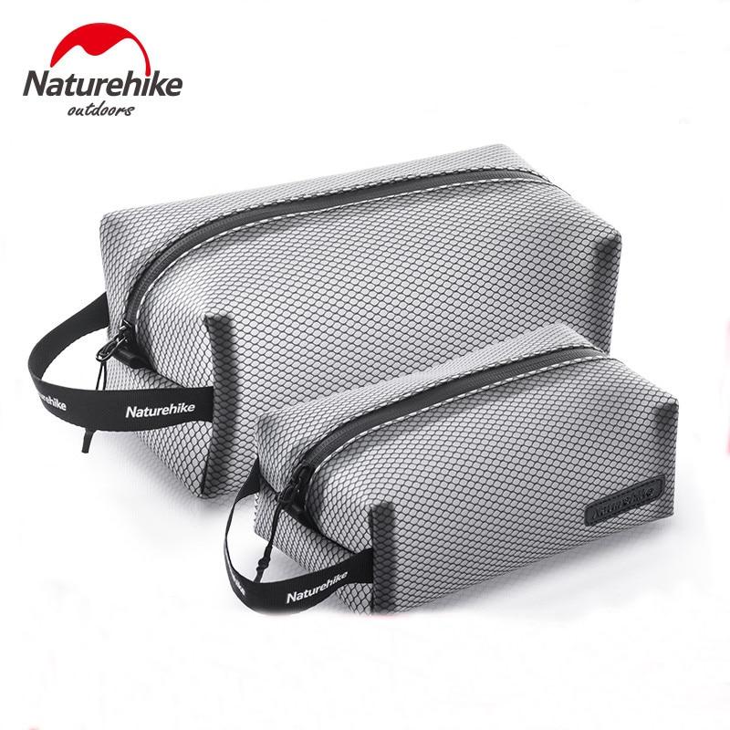 Naturehike TPU Mesh Toiletry Bag Waterproof Storage Bag Multifunction Cosmetic Bag Washing Bag For Travel Business
