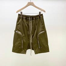 20ss Owen Seak Men Casual Harem Shorts Gothic Men's Sweatpants Summer Hip Hop High Sweater Women Loose Black Shorts Size XL