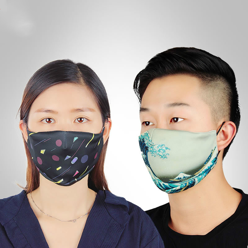Masks Anti-fog Haze Windproof Dustproof Mask Sports Breathable Running Face Mask Men And Women Protective Mask Filter Fashion