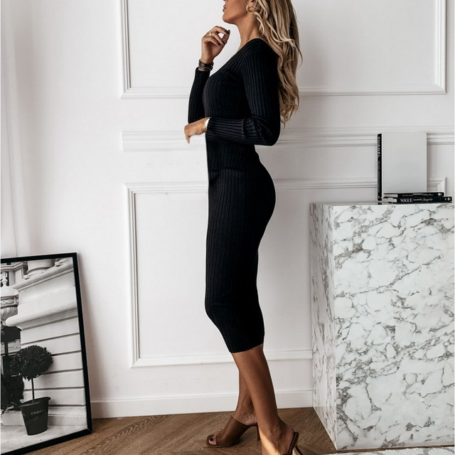 Long Sweater Dress 5