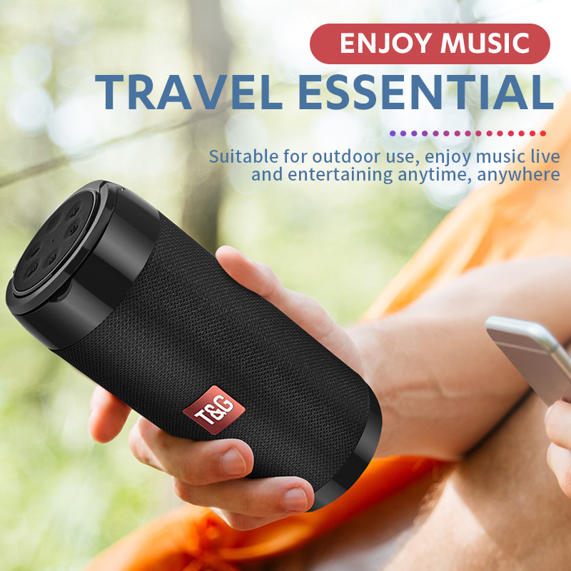 Mini Portable Bluetooth  Speaker with Phone Holder  3