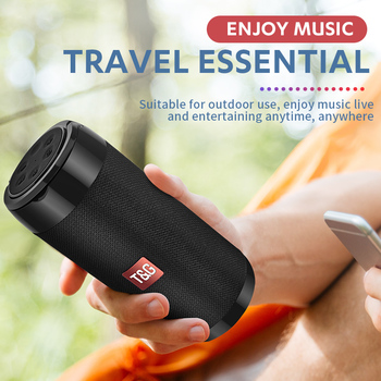 Portable Bluetooth Speaker with Phone Holder 2