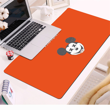 Mickey Cartoon Gaming Mouse Pad  70x30cm Large Mouse Pad Gamer Big Mouse Mat Computer Mousepad  Mause Pad Keyboard Desk Mat Gift