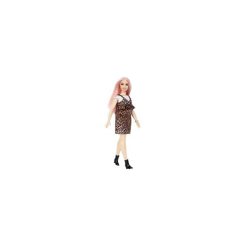 Barbie Fashionista Doll With Pink Hair And Leopard Toy Store Articles Created Handbook