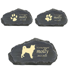 Marker Memorial-Stone Grave Personalized Pet for 49-63-Patterns Date Customizable-Name