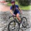 Kafitt verão novo de manga curta ciclismo wear terno macacão feminino triathlon ciclismo wear mountain bike macaquinho 11