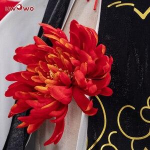 Image 5 - Uwowo Game Azur Lane Ayanami Lin New Year Cheongsam Cosplay Women Girls Chinoiserie Costume