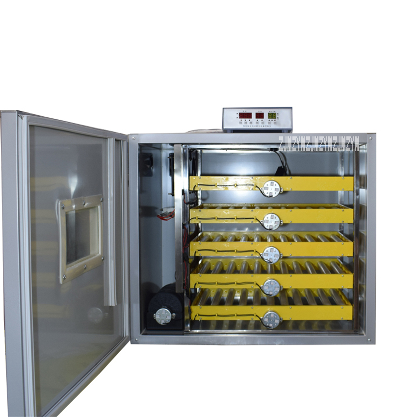 JX-300 Egg Hatching Machine All-in-on Triple Purpose Incubator Microcomputer Hatcher Intelligent Thermostat Hatchery 110V/220V