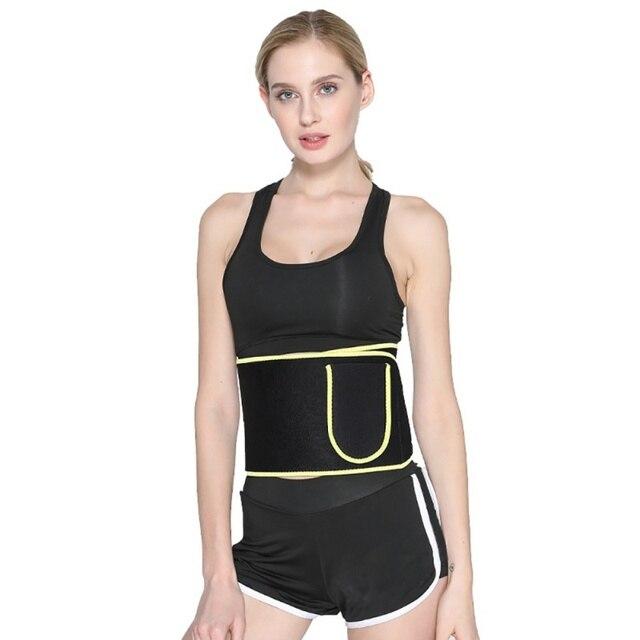 Waist Trainer Women-Waist Cincher Trimmer Sweat Crazier Slimming Body Shaper Belt-Sport Girdle Belt Weight Loss With Pocket
