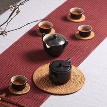 6 шт бохо подставки для напитков набор чайных принадлежностей