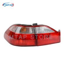 MTAP 4 szt ogon światło tylne zestaw Lamp dla HONDA ACCORD 1998 1999 2000 2001 2002 CG1 CG5 CF9 pokrywa bagażnika światła tylne zderzaka Taillight tanie tanio Tylne światła Reversing Light Back Up Light 33551S84G01 33501S84G01 34156S84G01 34151S84G01 33551-S84-G01 33501-S84-G01 34156-S84-G01 34151-S84-G01