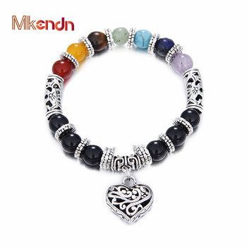 Men Women 7 Chakra Healing Crystals Stone Bracelet
