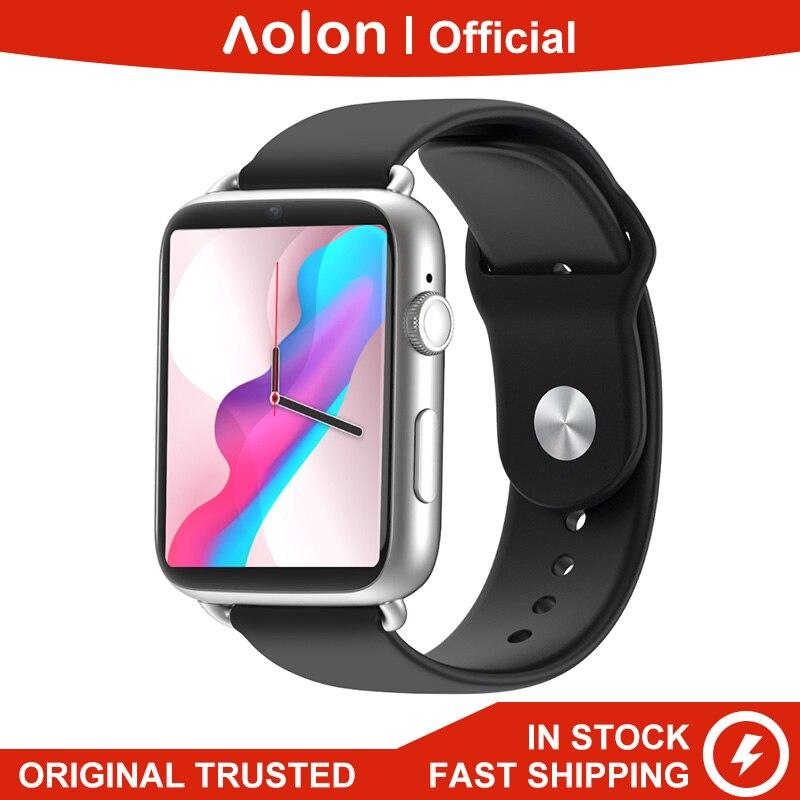 Aolon D20 четырехъядерный процессор 4G LTE 3 ГБ + 32 ГБ 780 мАч Смарт часы Android OS SIM карта GPS WiFi большая батарея Smartwatches смартфон