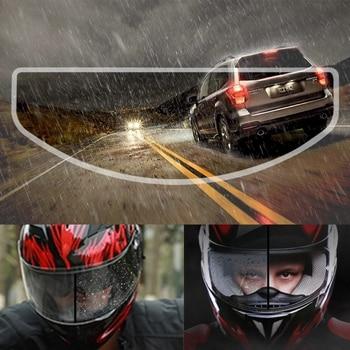 Motorcycle Helmet Waterproof Rainproof Anti-Fog Lens Film Clear Protective Sun Visor Screen Patch Shield for K3 K4 AX8 LS2 HJC M 1