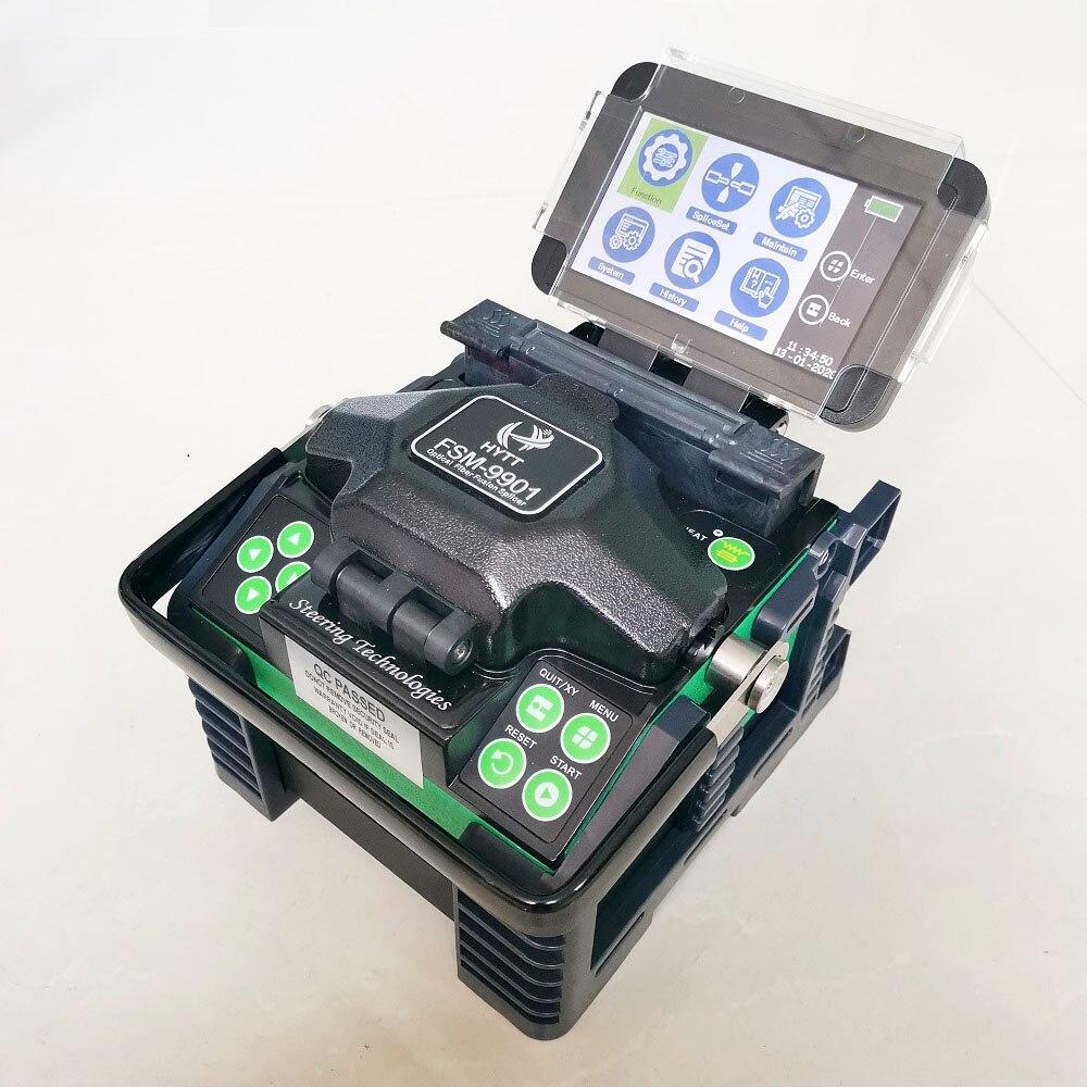 DHL Бесплатная доставка Волоконно Оптический FTTH сварочный аппарат