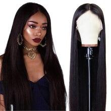 Riverwood – perruque brésilienne naturelle, cheveux lisses, 8-26 pouces, 13x4, HD, pour femmes, 150% de densité