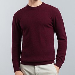 2020 New Autumn Winter Thick Warm Sweaters O-Neck 100% Wool Sweater Men Brand Clothing Knitted Cashmere Pullover Men 8802