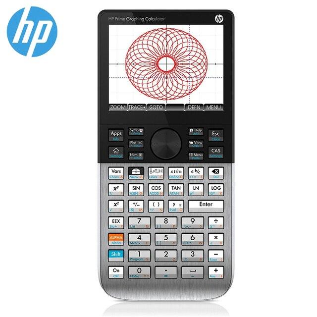 HP PRIME V1, Version 3.5 pouces, écran tactile couleur, calculatrice graphique, anglais SAT / AP / IB Exam, 1 pièce