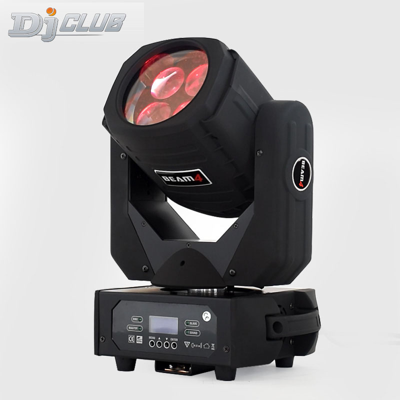 Led Moving Head Light Super Beam 4x25w Beam Effcect For Stage Dj Equipment