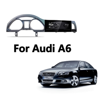 Car Multimedia Player For Audi A6 A6L 2004 2005 2006 2007 2008 2009 2010 2011 CarPlay TPMS GPS Audio Radio Navigation NAVI