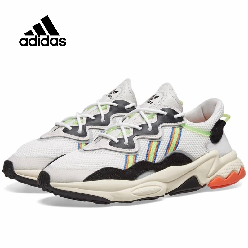 Adidas Ozweego Men And Women Classic Shoes Running Comfortable  Sneaker New Arrival Original #EF9627