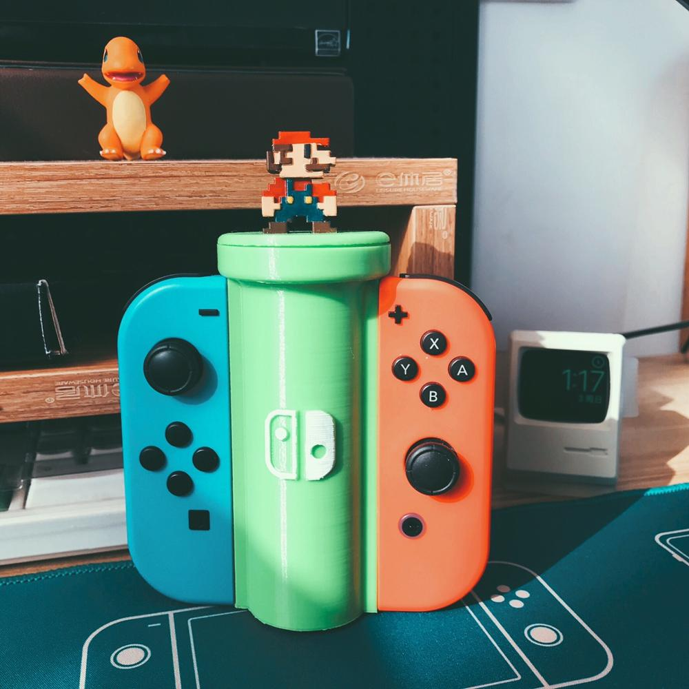 3d PCustomize Console Gamepad Storage Rack Holder Water Pipe For NS Switch Legend Of Zelda Mario Odyssey Animal Crossing