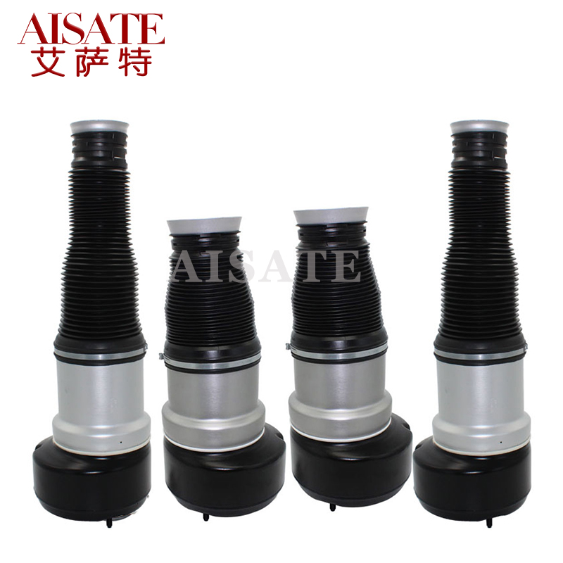 4pcs Front Rear Air Suspension Spring Airbag Fit Mercedes Benz W221 S Class Air Shock Absorber Repair Kit 2213201738 2213205513