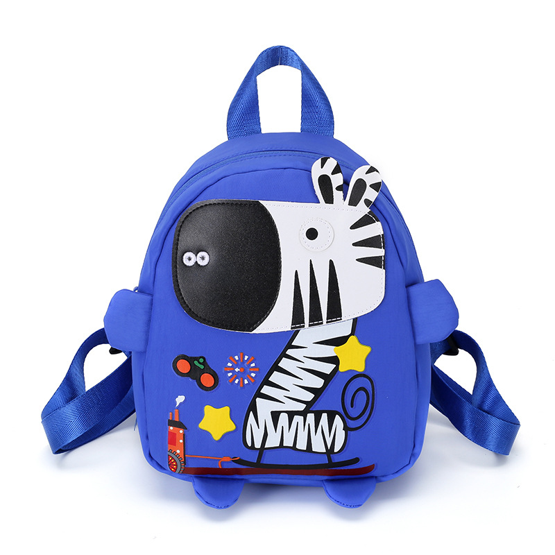 Anti-Lost CHILDREN'S School Bags Kindergarten Primary Class Men And Women Baby Backpack Safety Buckle Hand Holding Rope Snacks B