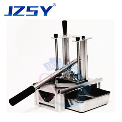 Easy to operate household small manual press potato chips stripping machine/hand pressure white radish onion cuke dicing tools