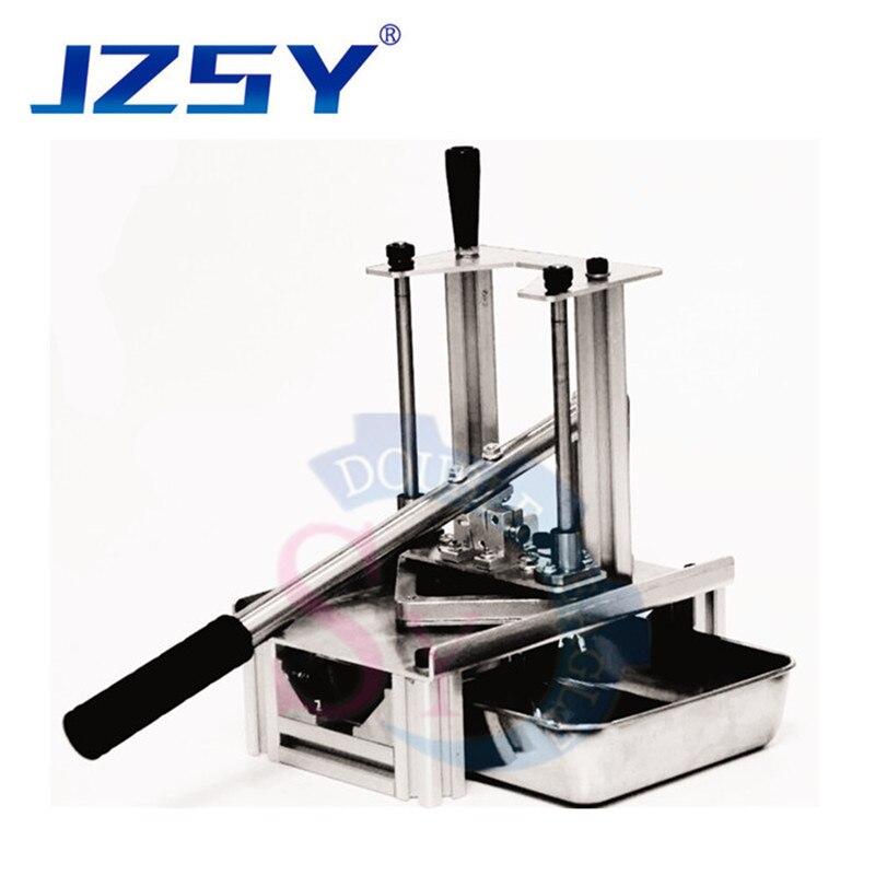 Home Use Vertical Type Hand Press Sweet Potato Stripe Extrusion Machine/manual 7mm10mm 14mm Potato Stick Cutting Machine