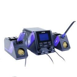 GT-6200 GT-6150 boutique 220V stacja lutownicza 200W podwójna elektryczna lutownica wielokanałowa inteligentna bezołowiowa
