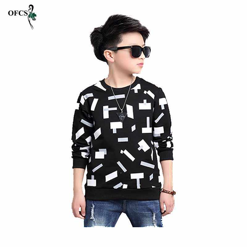 ホット販売の子供のセーターティーンエイジャーボーイズニットコットンタッセルがコート Tシャツ秋のファッション暖かい子供セータープルオーバー Tシャツ 5-16years