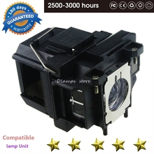 Projector Lamp ELPLP67 V13H010L67 for EPSON EB-S02 EB-S11 EB-S12 EB-W12 EB-W16 EB-W16SK EB-X12 EB-X14 EB-X14G EH-TW550 EX3210