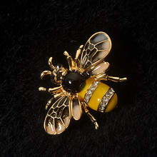 แมลง Bee Brooches Pines Metalicos (China)