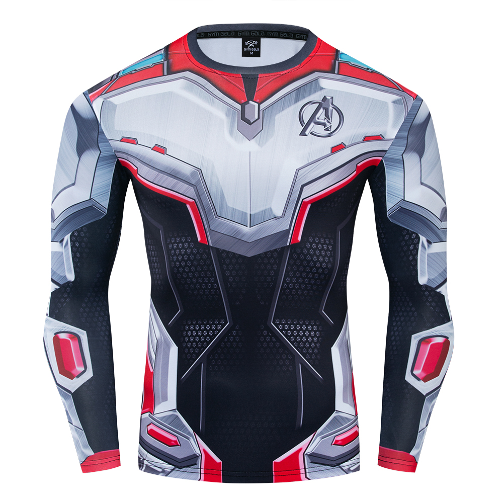 End Game Quantum Realm Suit Cosplay Premium 3d Printed Costume Compression T Shirt Finess Gym Quick Drying Tight Tops Best Offer B1115 Cicig