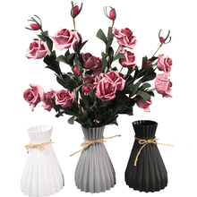 Plastic Vases Modern-Decorations Wedding Anti-Ceramic Rattan-Like Simplicity Creative