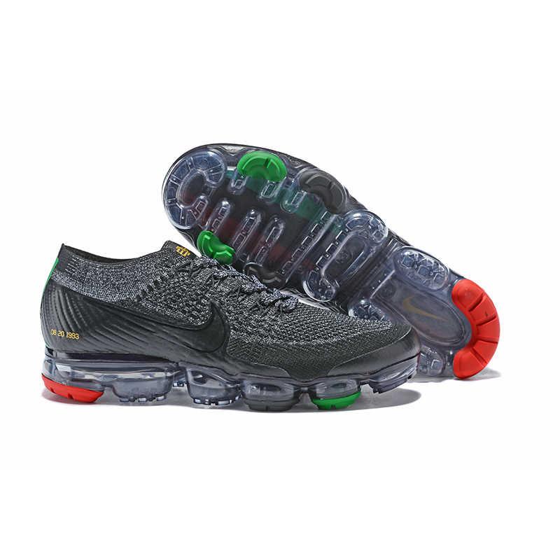 Giày thể thao nam Nike Air VaporMax 2.0 Giày Chạy Bộ Ngoài Trời Đen Đỏ dành cho Nam 2018-4 40-44 Kích CỠ CHÂU ÂU M
