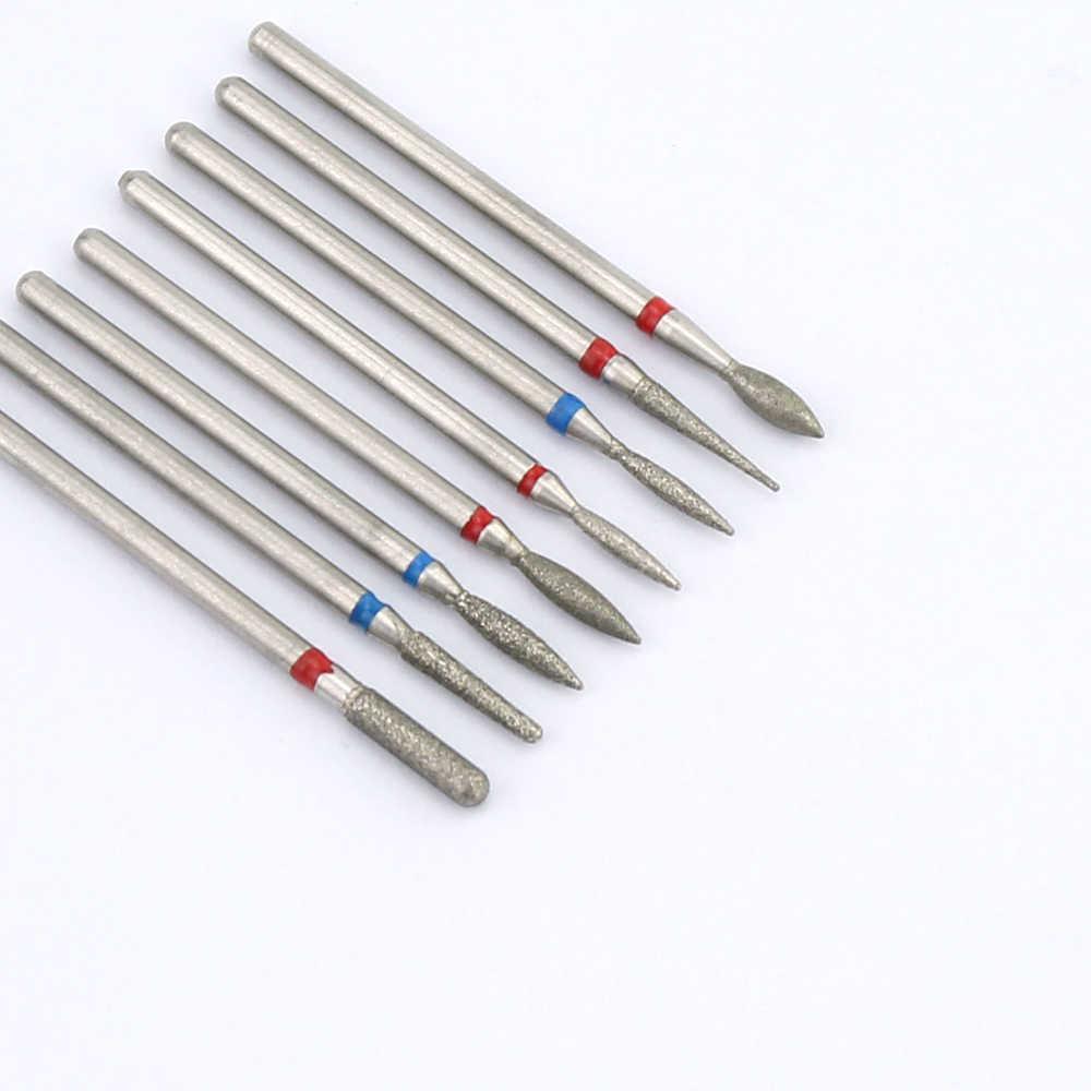 1 Pcs Diamond Penggilingan Pemotong untuk Manikur Kuku Bor Peralatan untuk Manikur Kutikula Bersih Bit Elecric Mesin Pedikur Aksesori