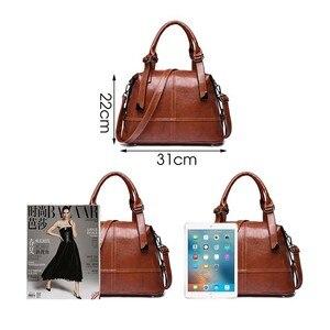 Image 3 - Herald Fashion Woman Bags Crossbody Bags For Women Retro Vintage Ladies Leather Handbags Women Shoulder Bag Female Zipper Sac