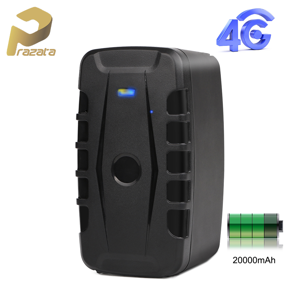 Magnetic Vehicle Tracker 4G Car Tracker <font><b>LK209C</b></font> 240 Days Standby Battery GPS Tracker Car Free Installation Web Multiple Alarm image