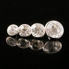 Decor-Accessories Rivets Studs-Bag Craft Rhinestone Diy Phone-Case Synthetic-Crystal