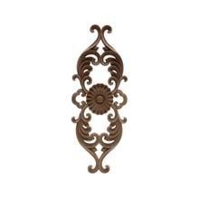 Furniture-Cabinet-Walls-Doors Wood Applique Wood-Decal Figurines Modern Onlay Flower
